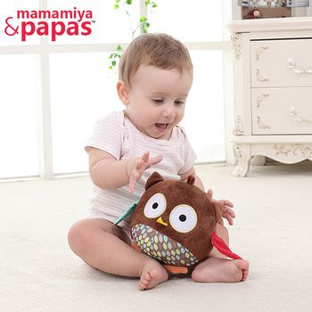 New Born Baby Toy Comforting Doll With BB Rattles Toys For Baby 0-3 Years Baby Play Owl Educational Toy Appease Dolls HB BABY
