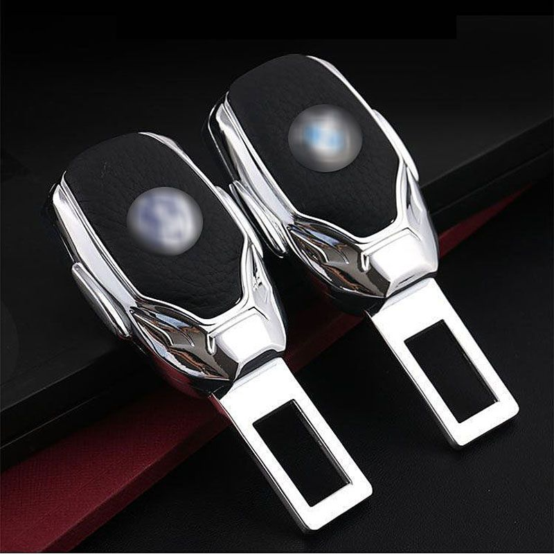 1pcs Top Quality Zinc Alloy Car Seat Belt Clip Extender Safety Belts Plug For Benz Land Rover BMW Audi VW Ford Honda Chevrolet