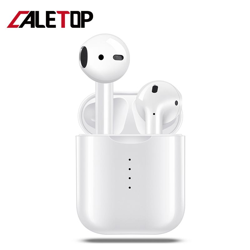 TWS Wireless Headphones V8 TWS Bluetooth Earphones 5.0 Touch Control Earbuds with Microphones Headsets