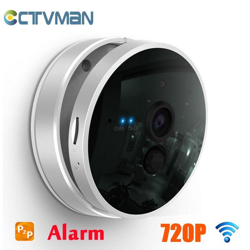 CTVMAN IP Camera Wireless 720P 1080HD Night Vision PIR Alarm Two Way Audio SD Card Slot P2P Smart WIFI Home Security IP Cam