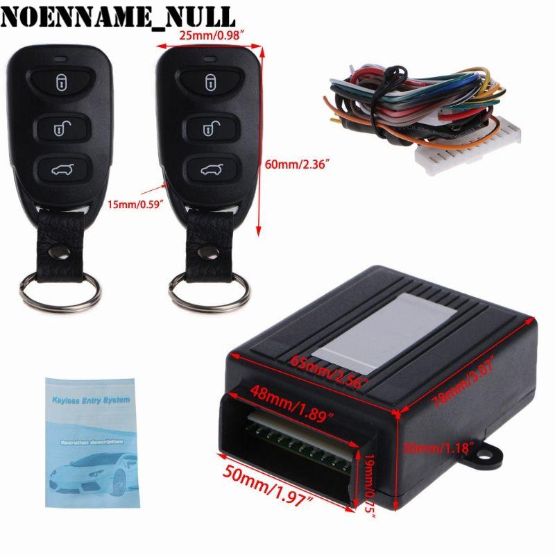 NoEnName_Null Universal Car Remote Control Alarm Keyless Entry System Anti-theft Door Lock