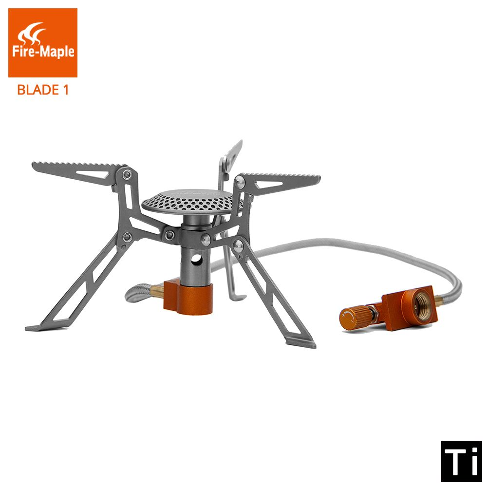 Fire-Maple Gas Burners Outdoor Camping Foldable Portable 98g Titanium Cooker FMS-117T Camping Equipment Fire Maple Gas Stove