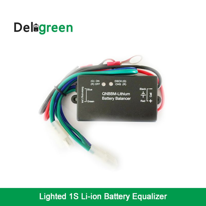 16 pcs Battery Equalizer with Led Indicator 1S Single Cell Li-ion LiFePO4 LTO NCM Polymer 18650 DIY BMS Battery Balancer