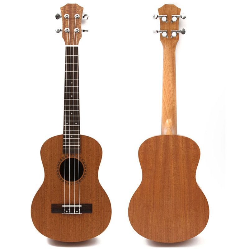 Professional 26 Inch Ukulele Uke Hawaii Acoustic Guitar Sapele 18 Fret Wood Ukulele Musical Instruments For Great Gift