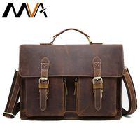 MVA многофукциональный инструмент Мужчины портфель мужской кожаный портфель сумка мужская натуральная кожа через плечо сумка мужская кожан...