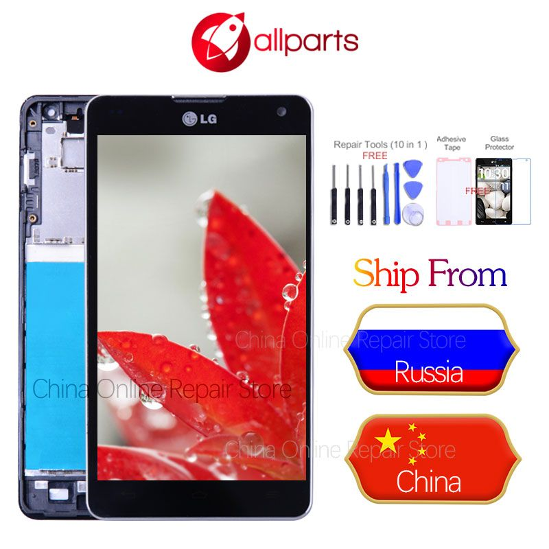 Tested ORIGINAL Display for LG E975 Display Touch Screen Digitizer for LG Optimus G E975 LCD LS970 F180 E971 E973 LCD Display