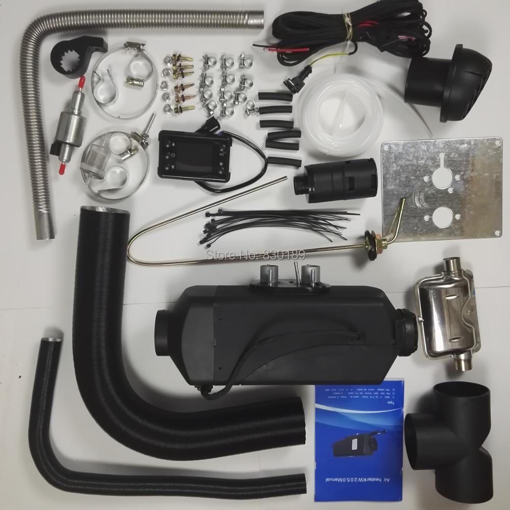 (Free by DHL)5KW 12V air heater for Boat Ship car van RV Camper-replace Eberspacher D4,Webasto diesel heater