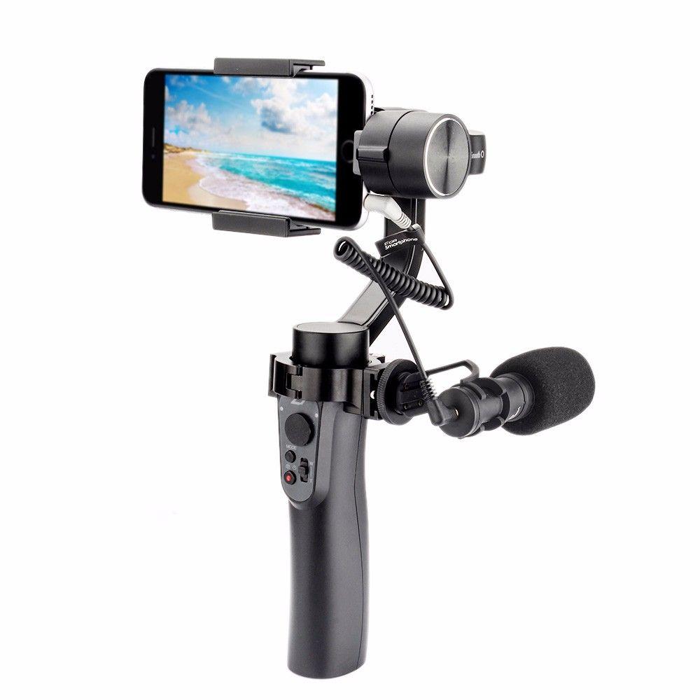 Zhiyun SMOOTH Q 3-Axis Handheld Gimbal Stabilizer for Smartphone action camera phone for iPhone X Gopro Hero 6 5 sjcam Xiaomi YI