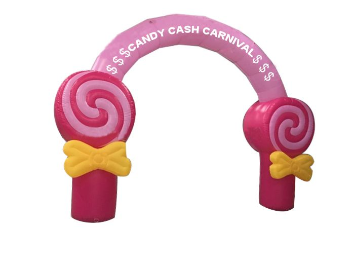 2016 new desgin Princess theme Inflatable Arch For Event Entrance