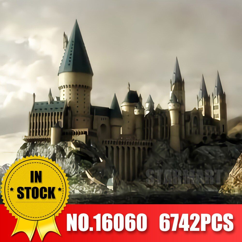Lepin 16060 Harry Magic Potter Hogwartsed Castle Compatible Legoingly Building Blocks Bricks Kids Educational Toys DIY