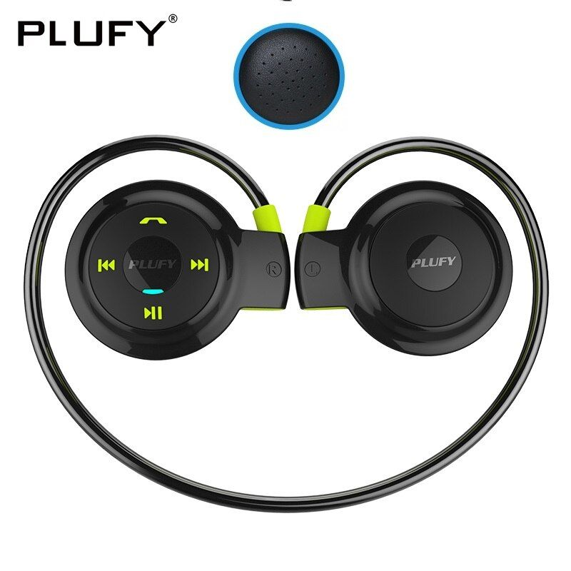 PLUFY Sports Bluetooth Headset Wireless Headphones Earphones Running Auriculares Con Mic Inalambrico Fone De Ouvido Bluedio