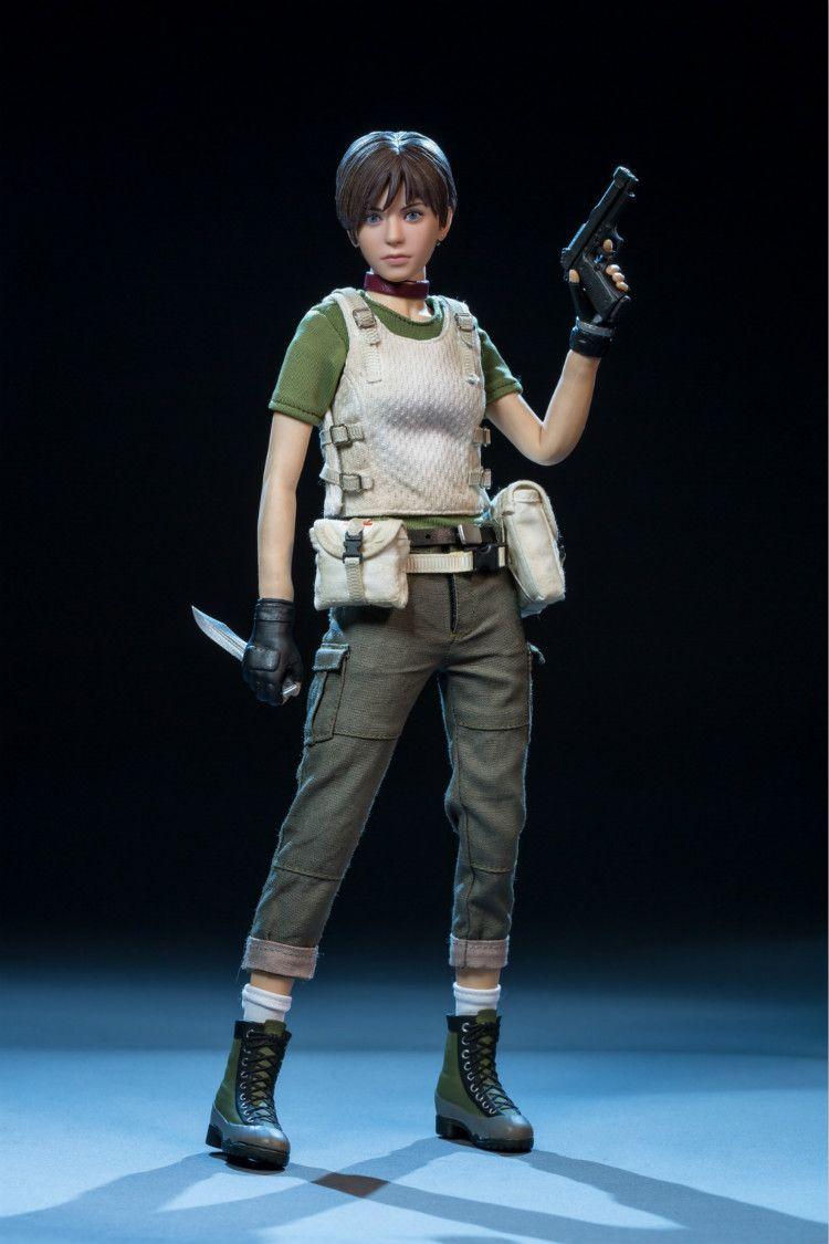 FS014 1/6 Skala Die Resident Evil Rebecca Kammern Volle Set Figur Spielzeug Sammler Spielzeug für Fans Geschenk