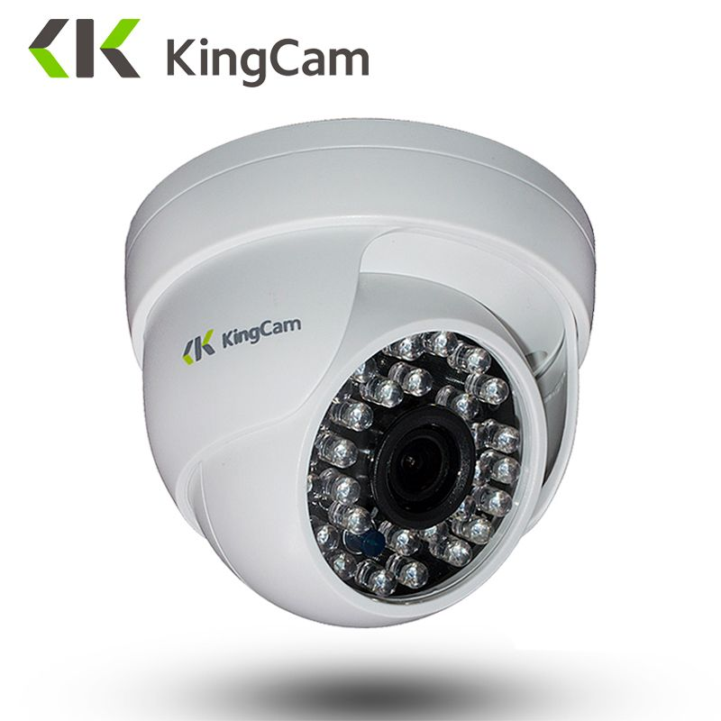 KingCam <font><b>2.8mm</b></font> lens Dome IP Camera 1080P 960P 720P Security indoor ipcam Day/Night View Home CCTV ONVIF Surveillance Cameras