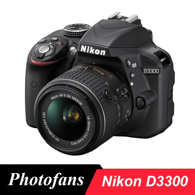 Nikon D3300 DSLR Kamera mit 18-55mm Objektiv-24.2MP-Video (Marke Neue)