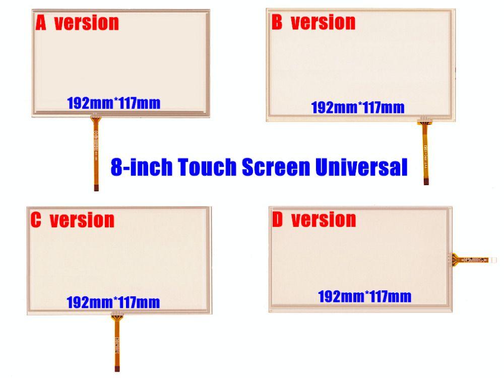 Skylarpu Nouveau 8-pouces 192mm * 117mm Écran Tactile Numériseur Panneau pour Voiture Navigation DVD, HSD080IDW1-C00/C01, AT080TN64, AT080TN03