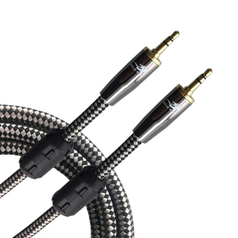 3.5mm Mâle à Mâle AUX Câble Téléphone Casque De Voiture PC 1/8