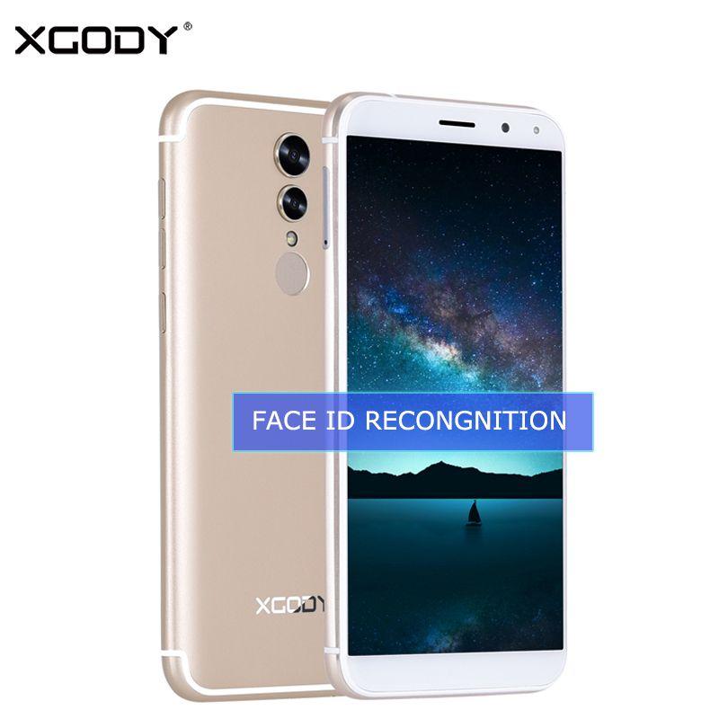 Xgody S12 Уход за кожей лица ID Смартфон Android 7.0 4 г LTE 5.72