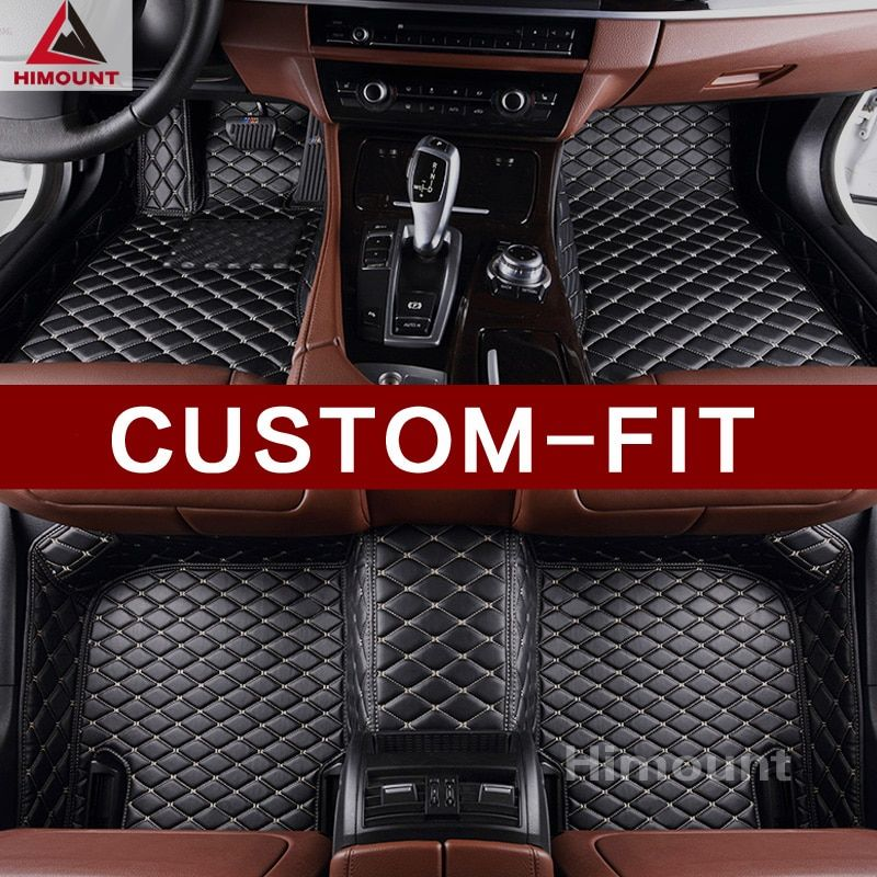 Custom fit car floor mats for BMW X1 E84 F48 high quality 3D car styling all weather heavy duty rugs carpets floor liners