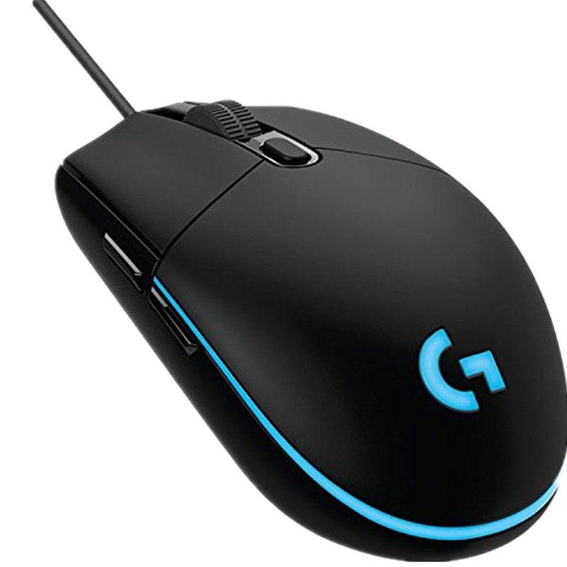 Logitech G102 IC PRODIGY Gaming Mouse Optical 6,000 DPI, 16,8 Mt Farbe LED Customizing, 6 Tasten-Internationale Version-Großpackung