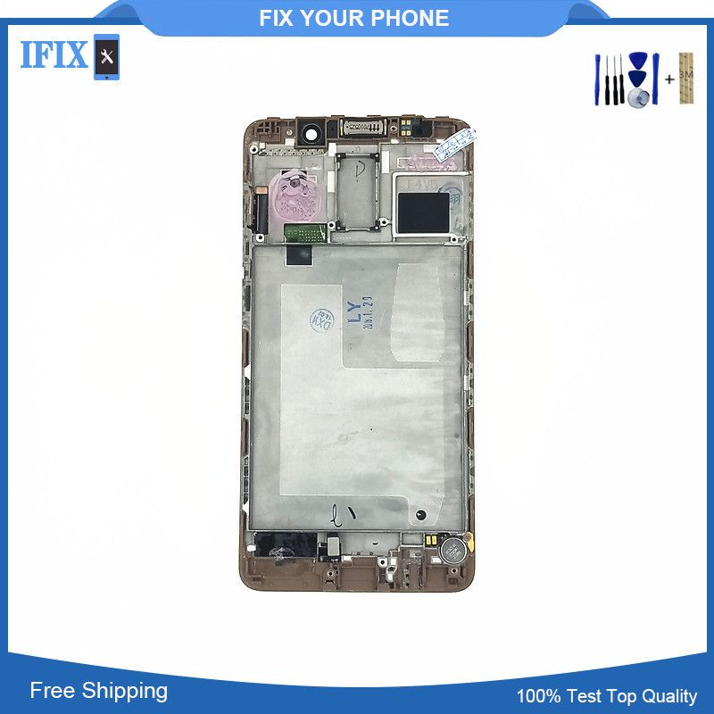 5.5 For Huawei Mate 9 Pro Mate9 Pro LCD Display Touch Screen Digitizer With Frame Bezel with Free Shipping