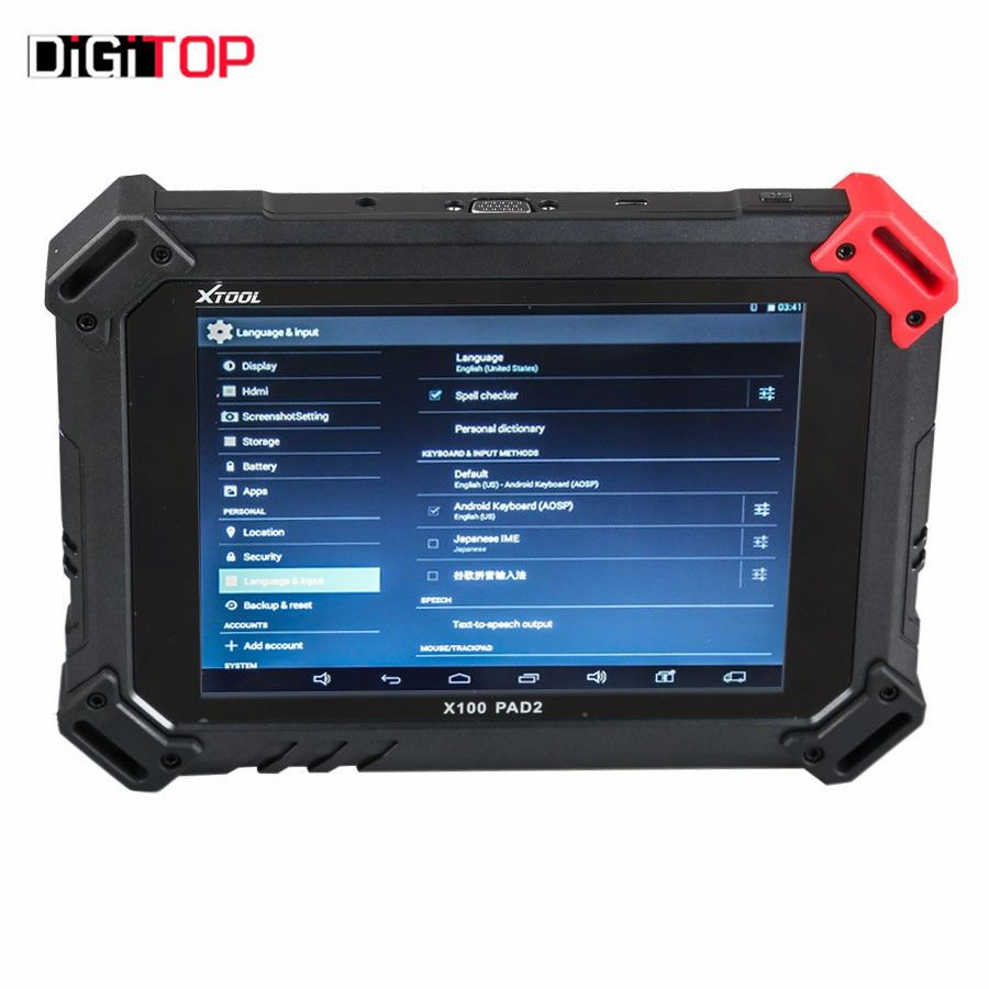 XTOOL X-100 PAD 2 Special Functions Expert Update Version of X100 PAD Support Wifi