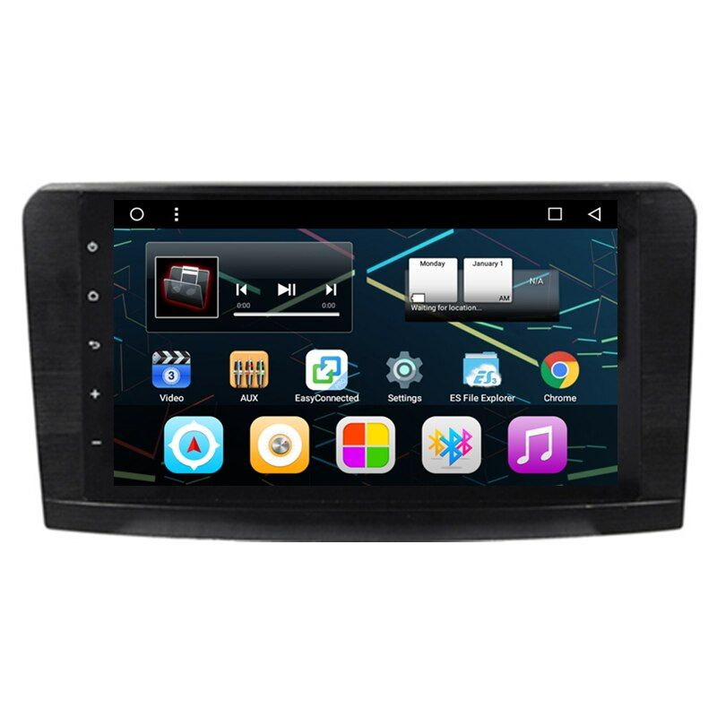 9 Quad Core Android 6.0 Car Radio DVD GPS Navigation Central Multimedia for Mercedes Benz ML W164 ML300 ML320 ML350 ML430 ML450