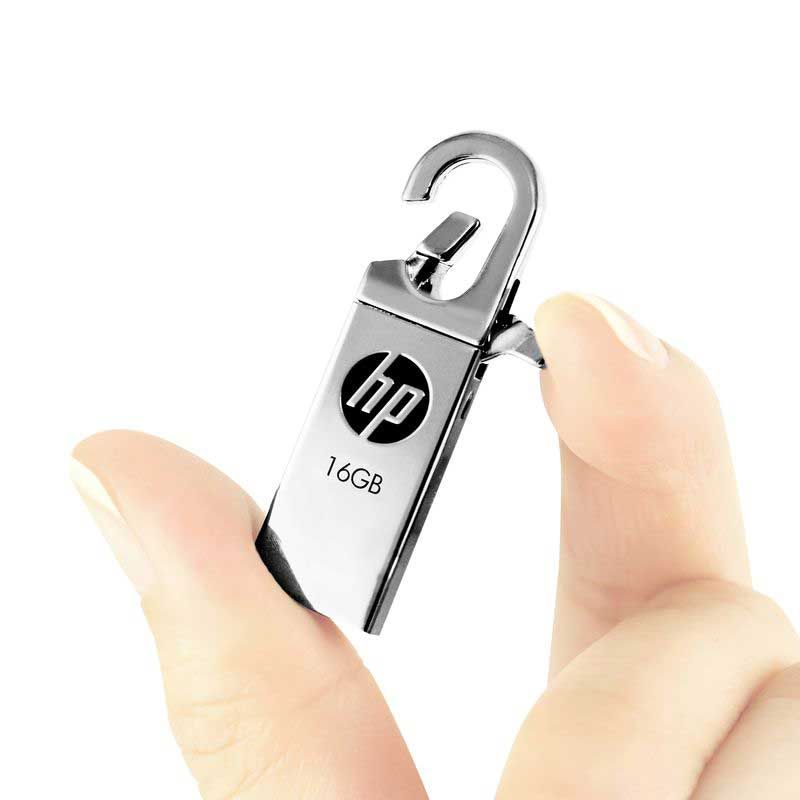 HP USB Flash Drive 16gb 32gb Pendrives creativos cle usb clef 16 go v252w Disk on key flash drives Dropshipping Memoria Stick