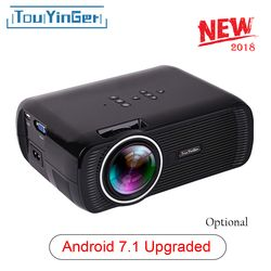 Portable Accueil (Androiod 7.1 WIFI Miroir En Option) Mini LED Projecteur Support TV Full HD 1080 p 4 K Vidéo Touyinger Everycom X7
