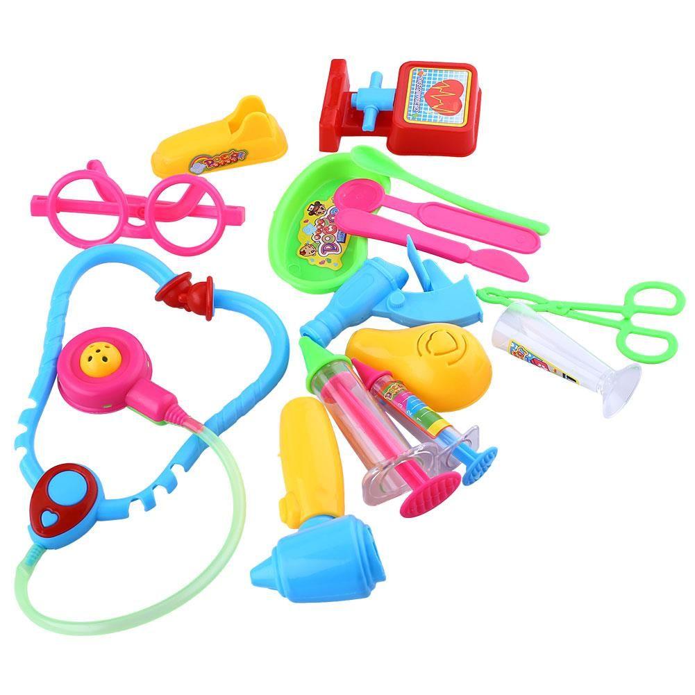 Creative Bébé Médecin Jeu Prétendre Carry Case Kit Rôle Jouer Jouets