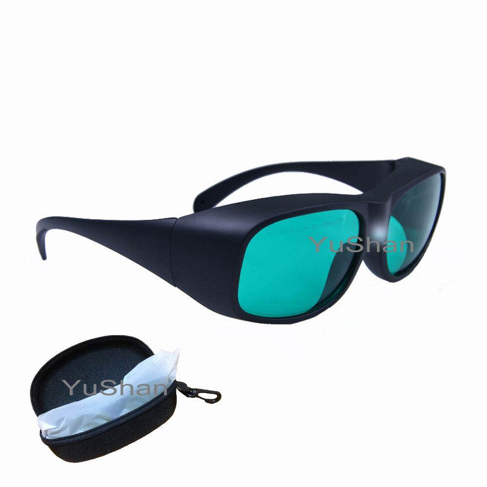 Lunettes de protection Laser rdt 620-660nm & 800-830nm, rouge et Diode lunettes de sécurité Laser multi-longueurs d'onde