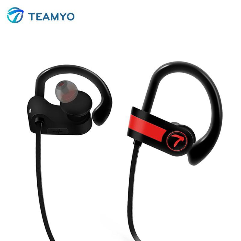 Teamyo Wireless Bluetooth Earphone sports Headphones Neckband headset IPX7 sweatproof earbuds with mic For Phone iPhone xiaomi