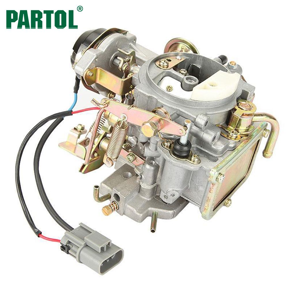Partol New Car Carburetor Carb Engine Assembly Replacement Parts Auto Carburetor for Nissan 720 pickup 2.4L Z24 engine 1983-1986