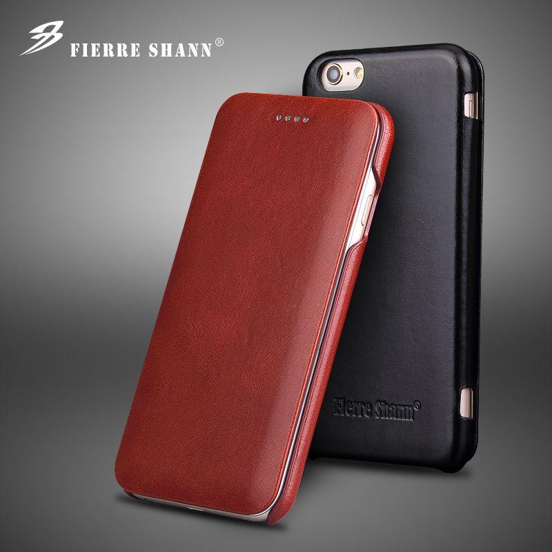 Pour iPhone Xs Max XR X 8 7 6 6 s Plus Classique De Mode Véritable En Cuir Téléphone Shell pour Samsung s8 Plus pour Huawei P10 Flip Couverture