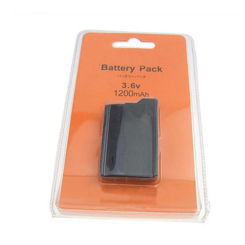 3.6V 1200mAh Rechargeable Battery Power Pack Replacement For Sony PlayStation Portable PSP 2000 2008 3000 3008 Slim Game Console