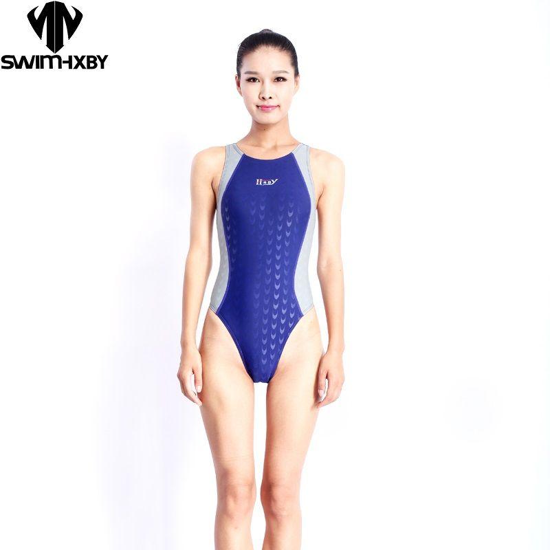 Livraison gratuite nouveauté sport professionnel natation femmes compétition maillots de bain une pièce maillot de bain pour l'entraînement