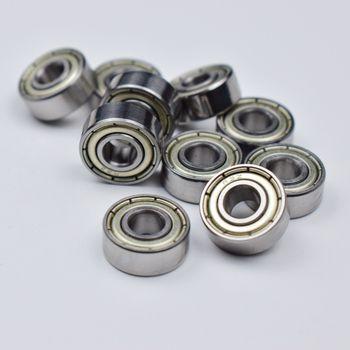 R3ZZ 4,763*12,7*4,98 мм 10 шт Бесплатная доставка ABEC-5 подшипники металлический герметичный подшипник 3/16 х 1/2 х 0,196