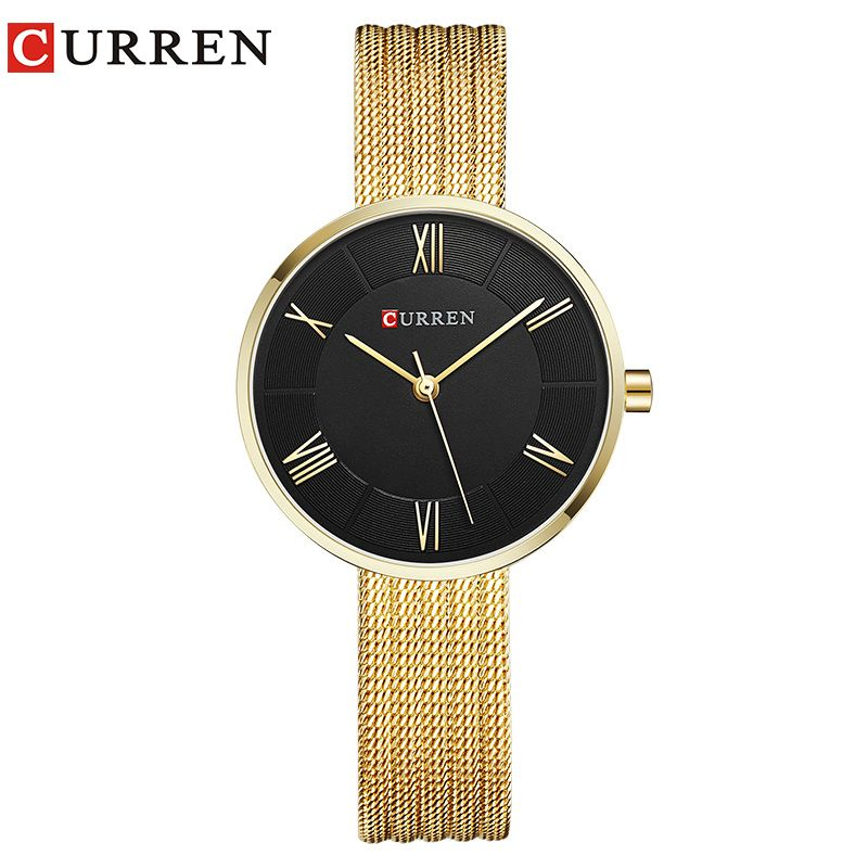 Curren 9020 женские часы 2017 Новый Кварцевые лучший бренд Роскошные модные часы-браслет