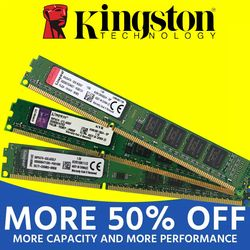 Kingston1GB 2GB PC2 DDR2 4GB DDR3 8GB 667MHZ 800MHZ 1333MHZ 1600MHZ 8G 1333 PC Memory RAM Memoria Module Computer Desktop