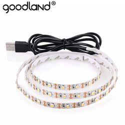 USB LED Strip Light TV Background Lighting SMD3528 DC 5V Flexible Diode Tape 50CM 1M 2M 3M 4M 5M RGB Neon Ribbon