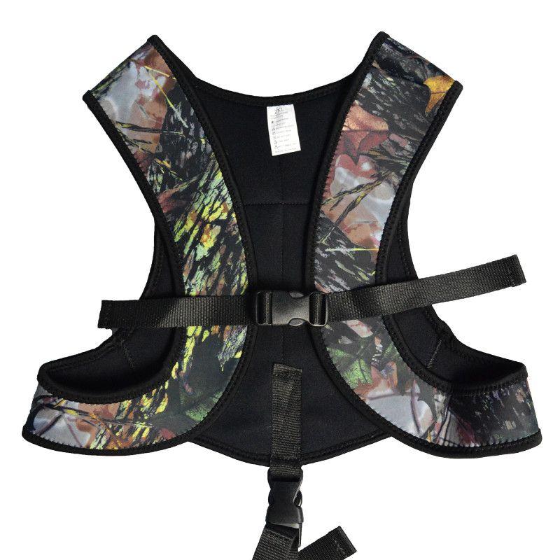3mm Neoprene Drop Load Vest Men Women For Spearfishing Underwater Hunting Camo Camouflage Wetsuit Wet Suit Weight Belt