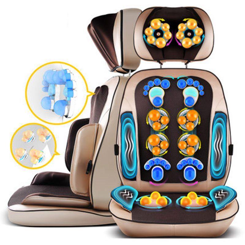Cervical massage body neck back waist massage cushion body multi-function pillow massage chair cushions home cushion