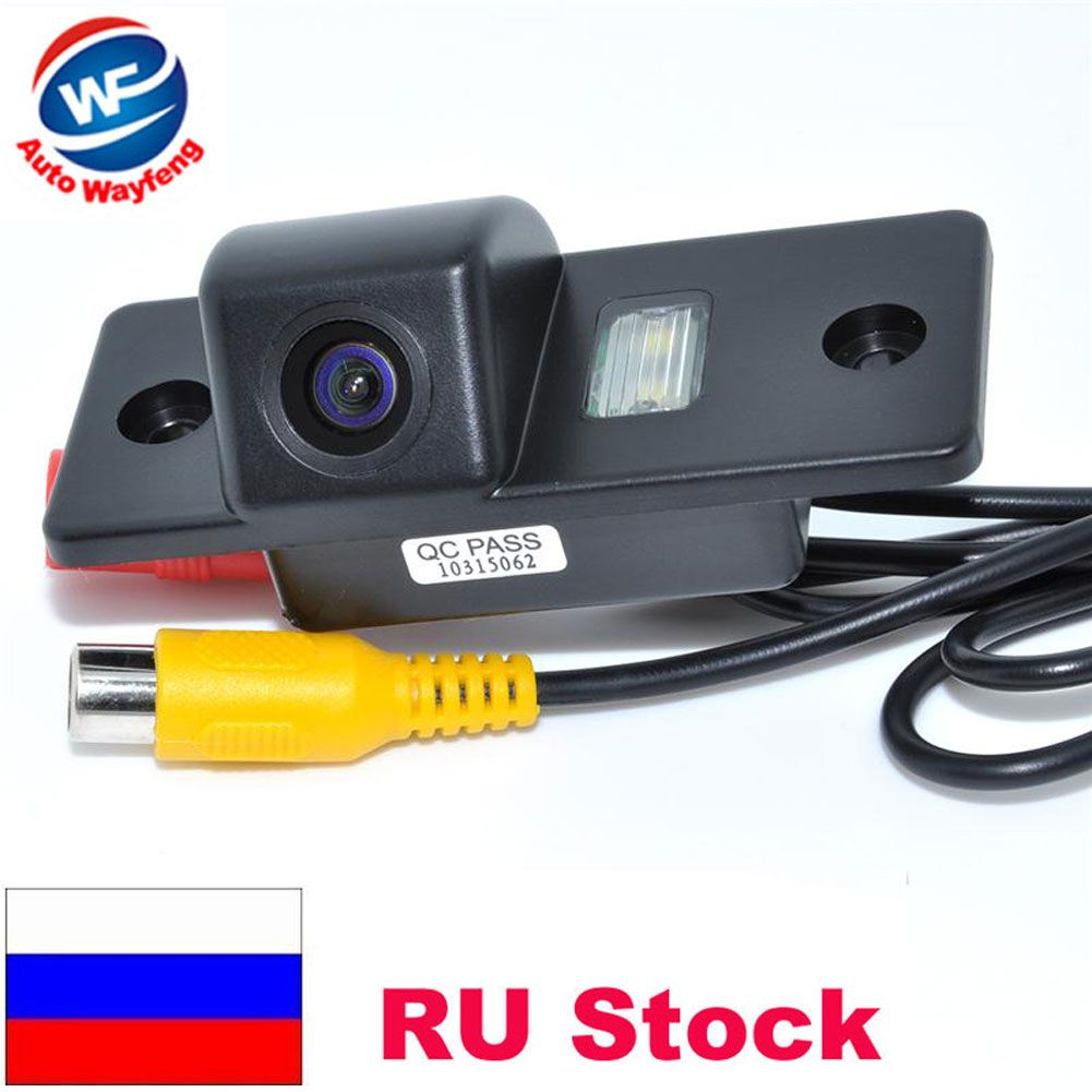 Caméra de recul pour voiture PORS-CHE CAYENNE VW Volkswagen SKODA FABIA/SANTANA/POLO (3C)/TIGUAN/TOUAREG/PASSAT WF