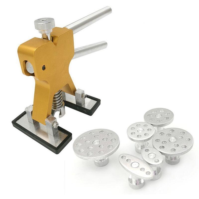 Urijk PDR Tools Paintless Dent Repair Tools Dent Removal Dent Puller Tabs Dent Lifter Hand Tool Set PDR Toolkit Ferramentas