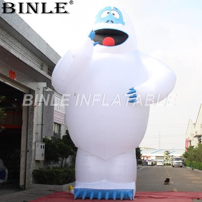 Hot sale large airblown snowman inflatable giant inflatable snowman monster for advertising