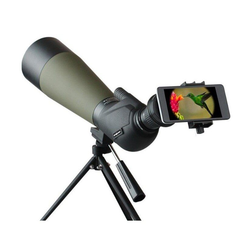 Fast shipping Spotting scope 20-60x80 Waterproof telescope for Hiking/Bird watchingMonocular 60x Spotting Scope With Tripod