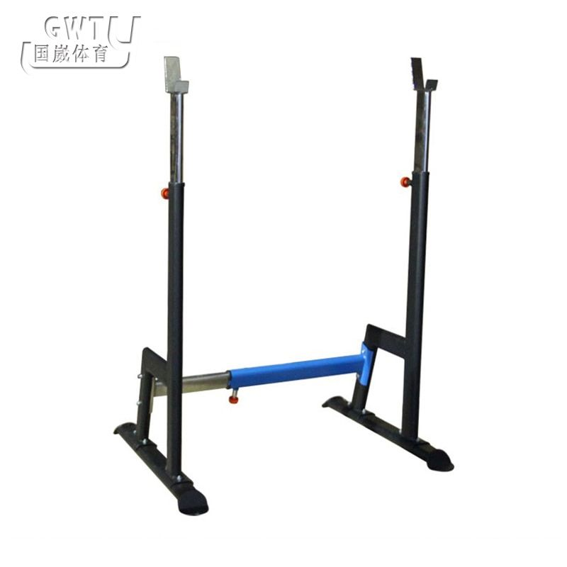 2016 Adjusted squat stand Barbell rack High quality squat body frame Scalable weight lifting barbell Rack fitness equipment