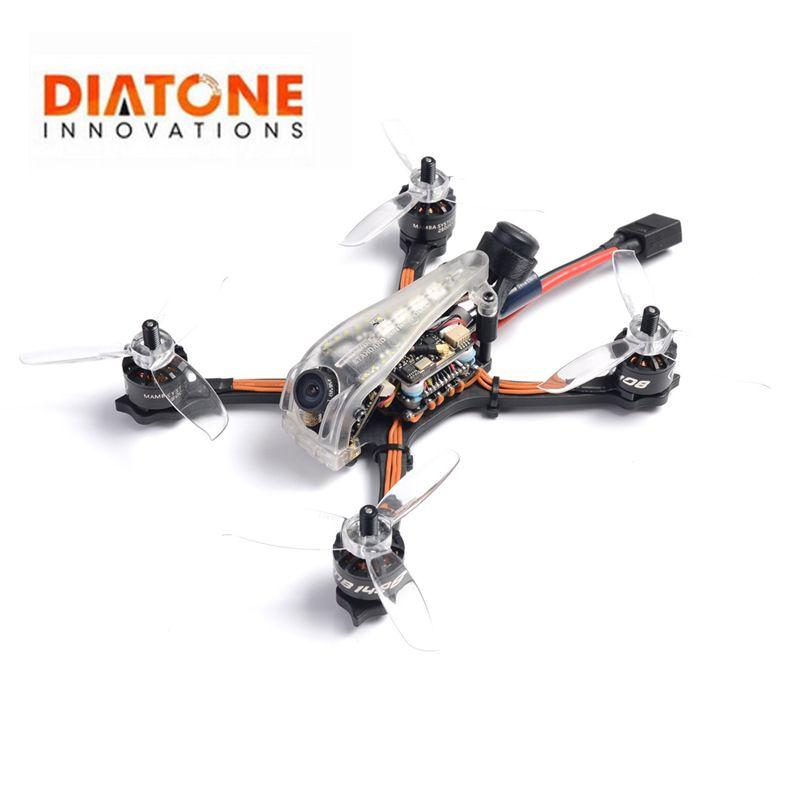 Diatone GT R369 3 zoll 6S 143mm FOXEER predator V4 Kamera Crazy Racing Limited Edition PNP XT60 143mm FPV Racing RC Drone Modell