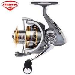 Pro Beros Aluminium Alloy Fishing Reel 20Kg Max Drag Perahu Laut 1000-6000 Berputar Reel 14BB Stainless Steel bantalan Anti-Air Laut