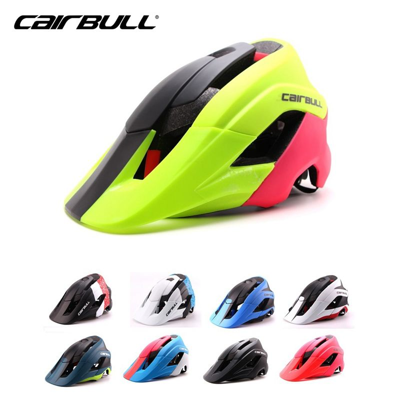 CAIRBULL MBT Bike Helmet Super Design Deeper Coverage Women Bicycle Helmet Superior Venting Cycling Helmet For Men M/L