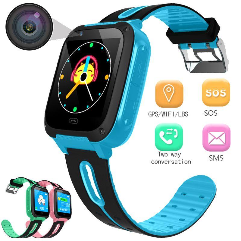 BANGWEI smart watch Anti-verloren Ätherisches für Kinder Uhren LED Farbe Bildschirm wecker Positionierung Smart Kinder Uhr Machen anruf